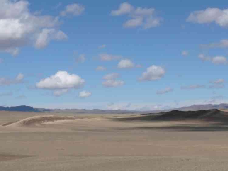 Mongolie, désert de Gobi, mai 2008