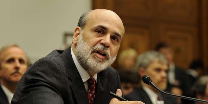 Ben Bernanke dirige la Réserve fédérale américaine depuis janvier 2006.