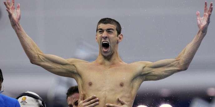 S'il ne fallait en retenir qu'un, ce serait lui : Michael Phelps est l'homme des Jeux, celui qui a fait vibrer le