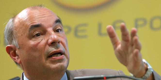 Le président de La Poste, Jean-Paul Bailly, à Paris, le 28 août 2008.