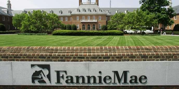 Le siège de la société Fannie Mae, à Washington.