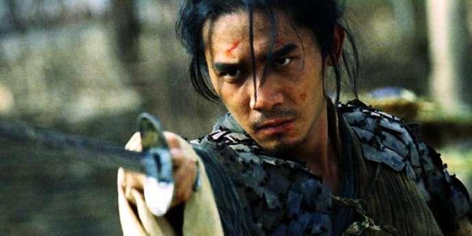 Leslie Cheung dans le film chinois de Wong Kar-wai,