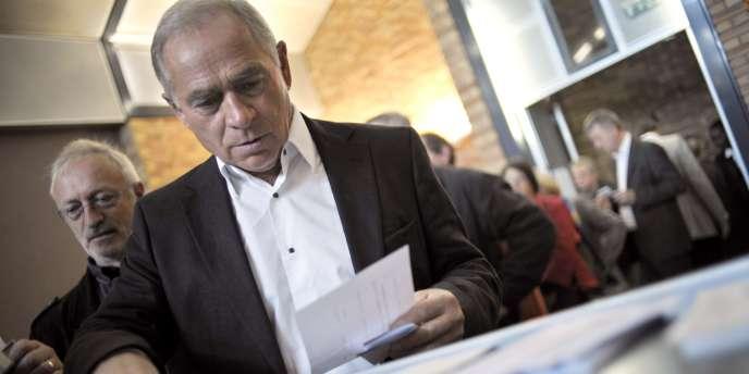 François Patriat, président de la région Bourgogne, en 2008.