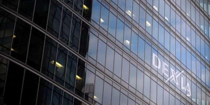 Le siège de la banque franco-belge Dexia, à Courbevoie.