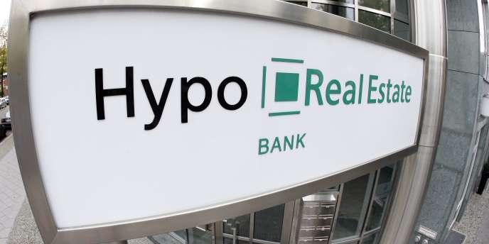 Le sauvetage de l'établissement spécialisé dans l'immobilier Hypo Real Estate a coûté plus de 100 milliards d'euros à l'Etat allemand.