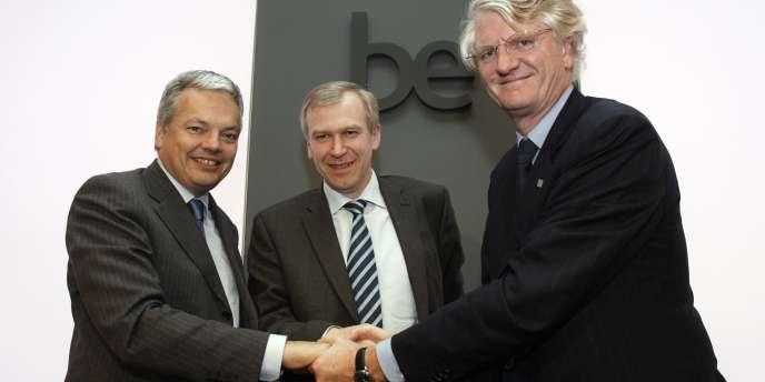 La Belgique s'est retrouvée avec 10,3 % dans BNP Paribas et 25 % de BNP Paribas Fortis, la filiale bancaire belge du groupe, à la suite du sauvetage du groupe financier Fortis, au plus fort de la crise financière de 2007-2009.