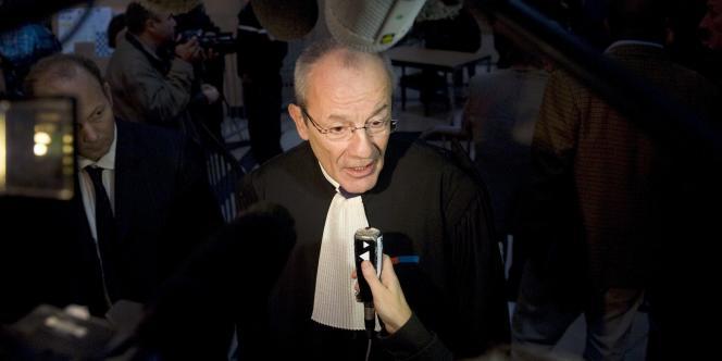 L'avocat de l'Angola, Francis Teitgen, qui a déposé un recours, à quelques heures de l'ouverture des débats.