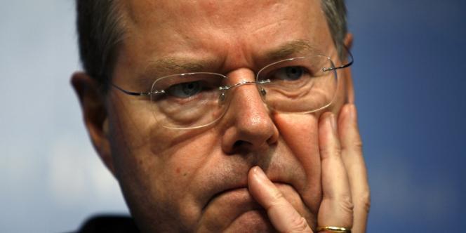 Peer Steinbrück, le candidat du Parti social-démocrate à la chancellerie.