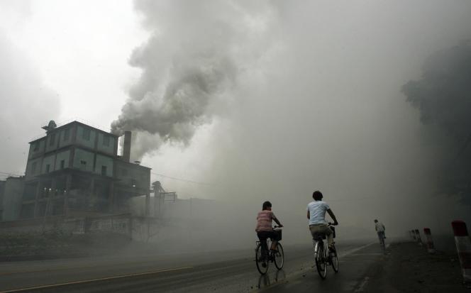 Une usine de Yutian, à 100 km à l'est de Pékin.