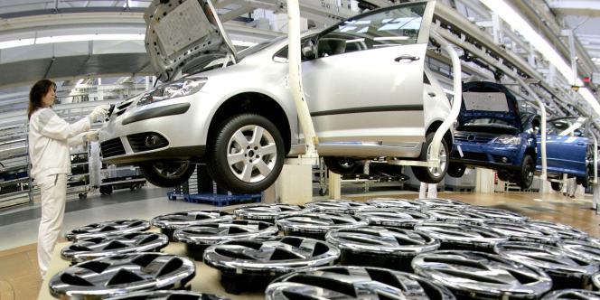 Volkswagen a écoulé 2,81 millions de véhicules en Chine en 2012, et compte en vendre 4 millions en 2018.
