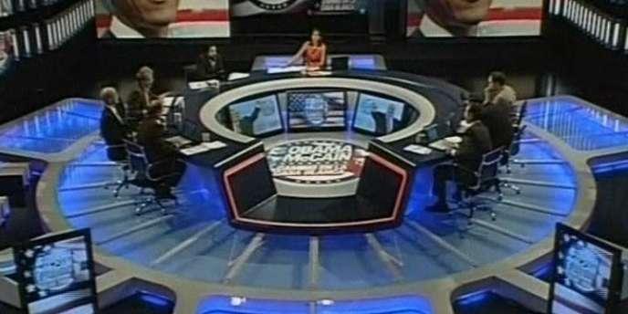 Plateau de la télévision espagnole TVE.