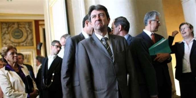 Jean-Luc Mélenchon, en juillet 2008.
