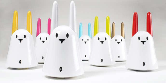 Des lapins parlants Nabaztag.
