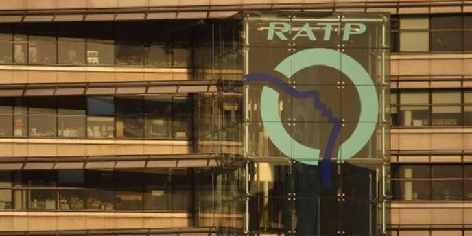 Le siège de la RATP, à Paris, en novembre 2007.