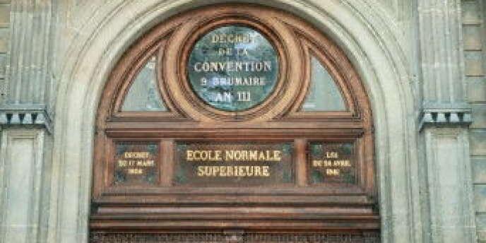 L'Ecole normale supérieure de la rue d'Ulm.