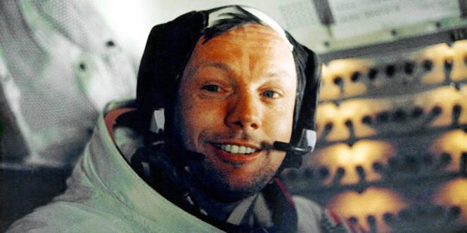 Neil Armstrong en juillet 1969.