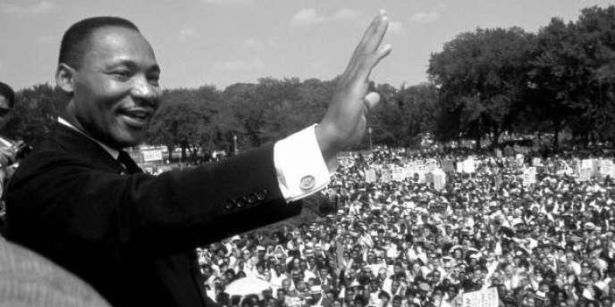 Martin Luther King Jr. vient de prononcer son célèbre