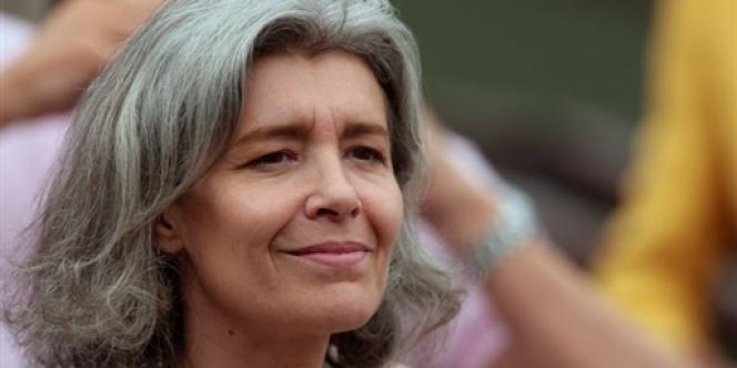 Claudie Haigneré en 2007 à Roland-Garros.