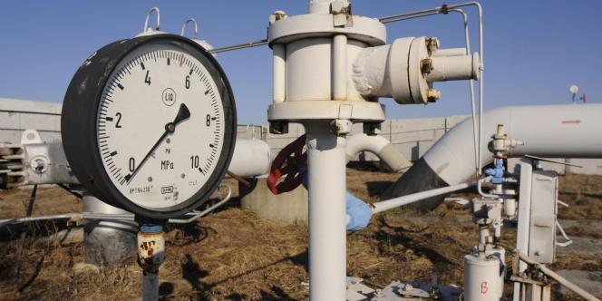 Gazoduc acheminant du gaz russe en Ukraine.