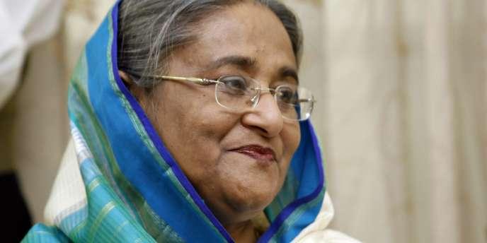 Cheikh Hasina Wajed à Dacca, le 30 décembre 2008.