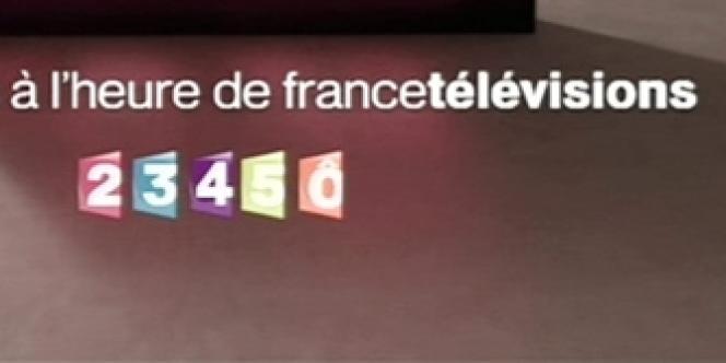 Les logos des différentes chaînes de France Télévisions, dont France 5.