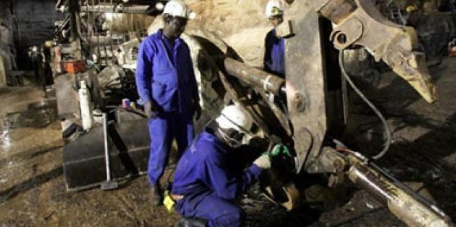 Une mine d'uranium exploitée par la société française Areva, au Niger.