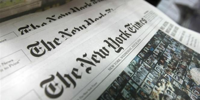 Le New York Times a vu rouge ce week-end, après la publication sur son site internet par un pirate informatique d'un faux éditorial.