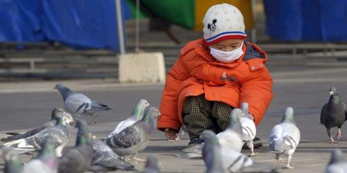 A Pékin, le 20 janvier.