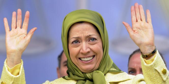 Maryam Rajavi, leader des Moudjahidines et du Conseil national de la résistance iranienne, le 27 janvier 2009 à Bruxelles.