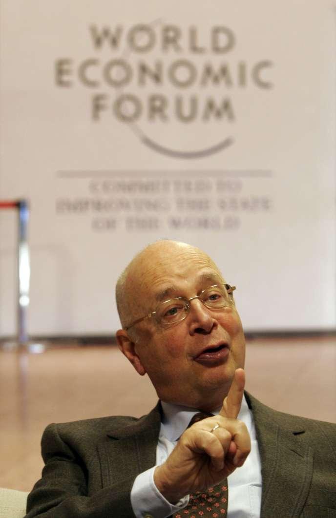 Le fondateur de Davos, Klaus Schwab.