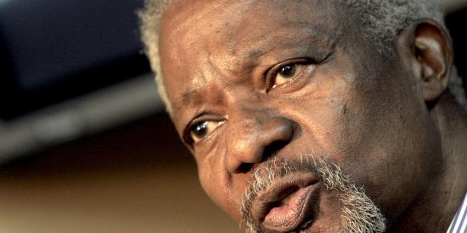 L'ancien secrétaire général de l'ONU, Kofi Annan.