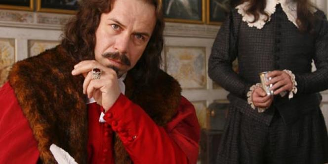 Philippe Torreton, le cardinal Mazarin, dans