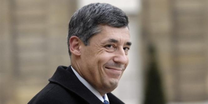 Henri Guaino, conseiller spécial du président Sarkozy, à l'Elysée, début 2008.