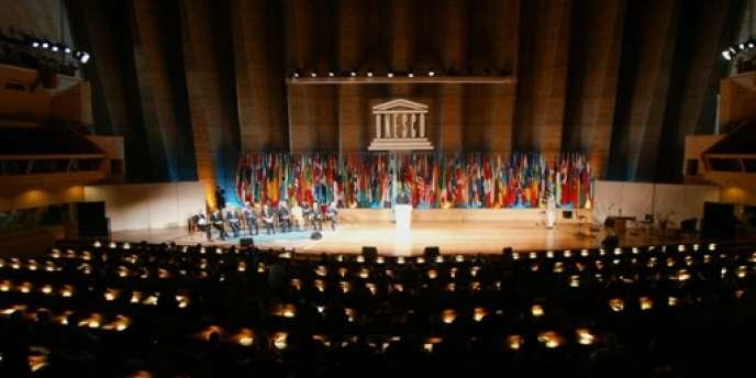 Le siège de l'Unesco à Paris, en juin 2002.