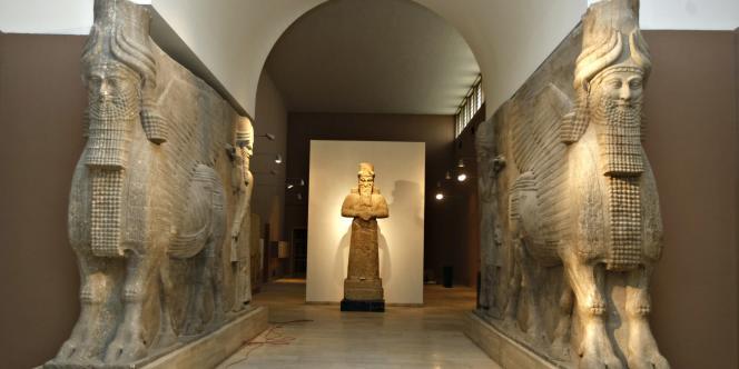 le Musée national d'Irak – construit en 1926 – a rouvert à Bagdad le 23 février 2009.