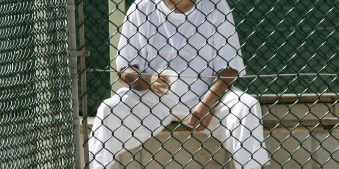 Un détenu de Guantanamo.
