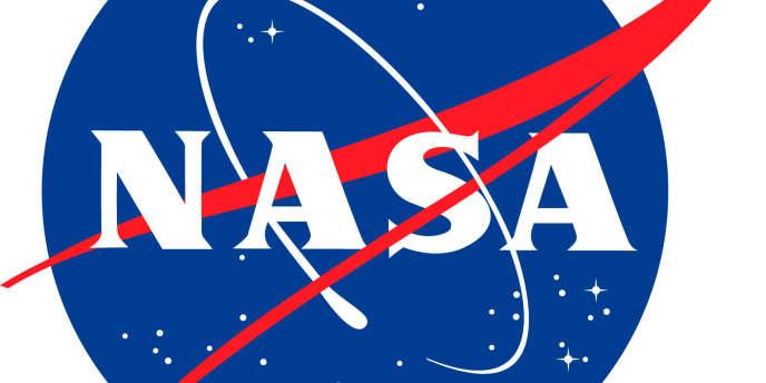 Le logo de la NASA.