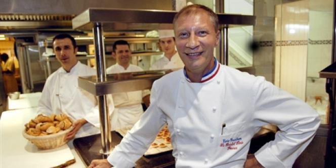 Eric Fréchon, chef du restaurant Bristol, en 2005.