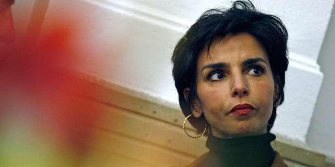 Rachida Dati, maire du 7e arrondissement de Paris le 23 février 2009 à Toulon.