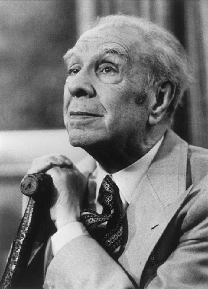 Jorge Luis Borges, en 1982.