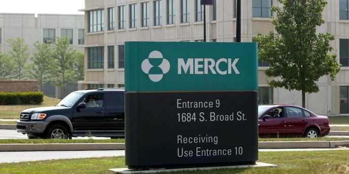 Le siège de Merck à Lansdale (Etats-Unis). Le laboratoire américain a annoncé, lundi 9 juin, le rachat de la petite société de biotechnologie Idenix Pharmaceuticals pour 3,85 milliards de dollars (2,8 milliards d'euros).