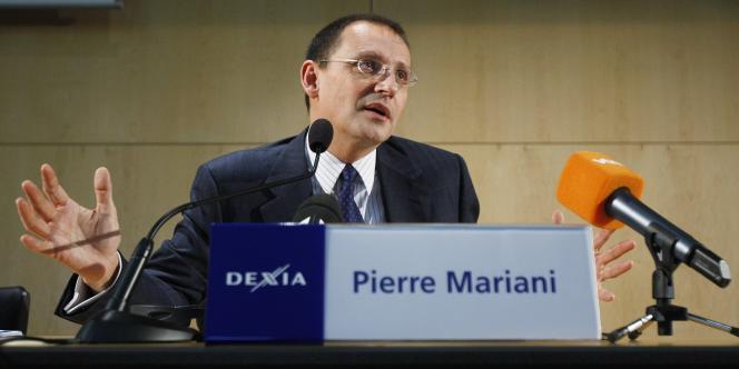 Pierre Mariani, le patron de Dexia, dépêché à la tête de la banque franco-belge par Nicolas Sarkozy fin 2008 pour tenter de redresser le groupe, a quitté ses fonctions comme prévu début août.