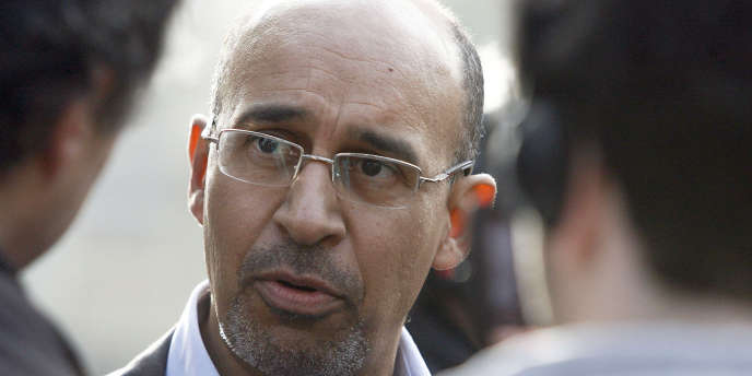 Harlem Désir, coordinateur de la camapgne du PS pour les législatives, ici en février 2009.
