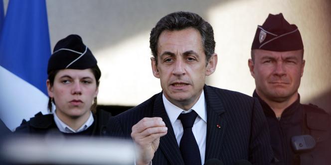 Nicolas Sarkozy, le 18 mars 2009.