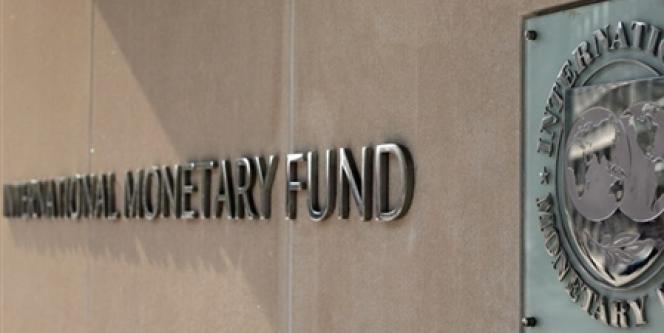 Le siège du fonds monétaire international, à Washington, en avril 2007.