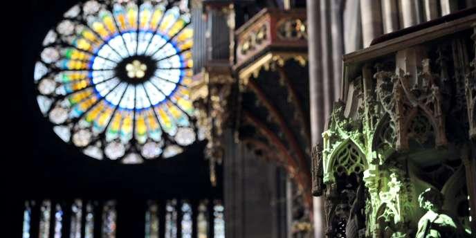 La cathédrale de Strasbourg.
