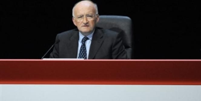 Daniel Bouton, patron de la Société générale, en mai 2008.