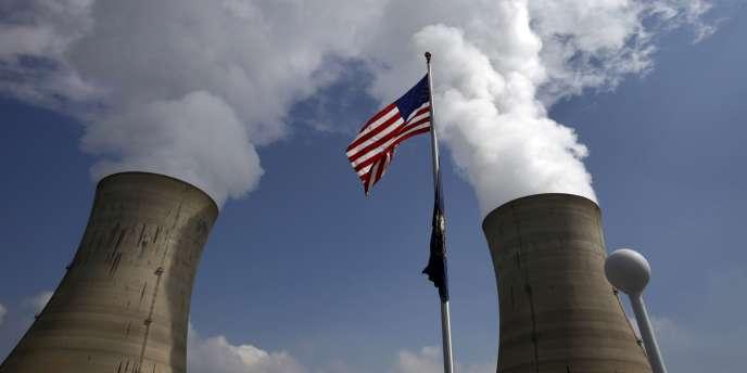 La centrale nucléaire de Three Mile Island aux Etats-Unis, le 17 mars 2009.