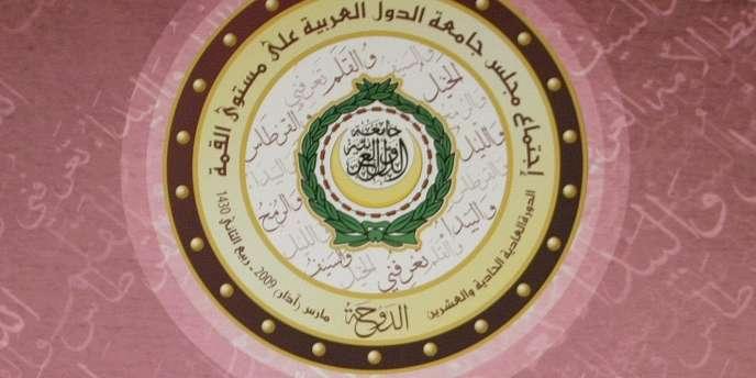 Les dirigeants de la Ligue arabe réunis au sommet de Doha, le 30 mars 2009.