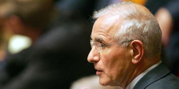 Paul Quilès, à l'Assemblée nationale, en janvier 2006.